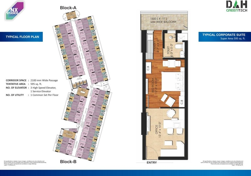 nx one corporate suites floor plan